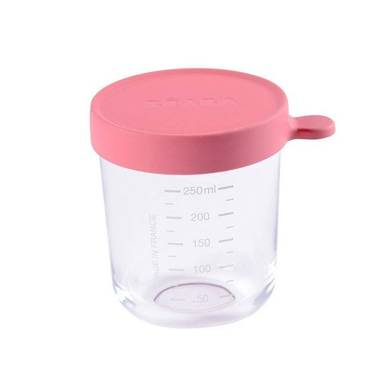 Portions verre Dark Pink 250 ml de Beaba