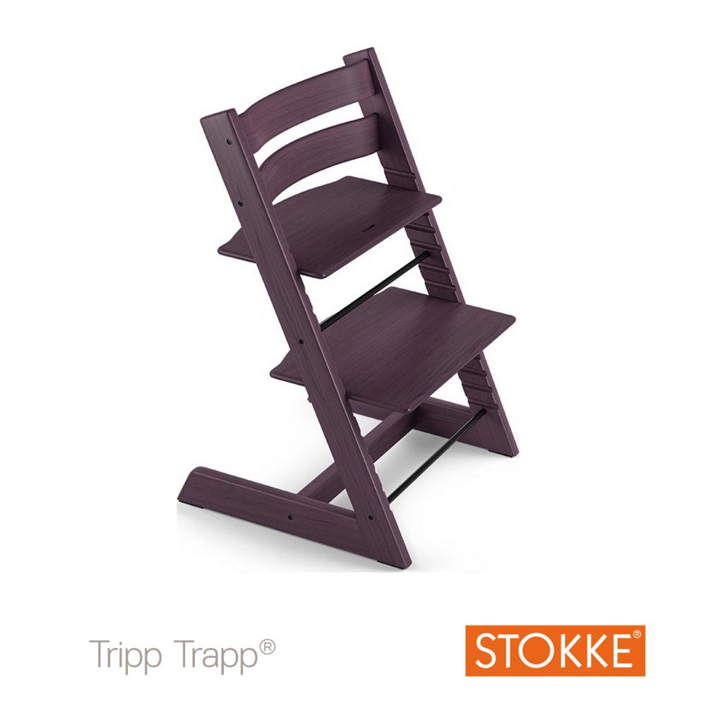 Chaise haute tripp trapp prune aubert - Chaise haute tripp trapp ...