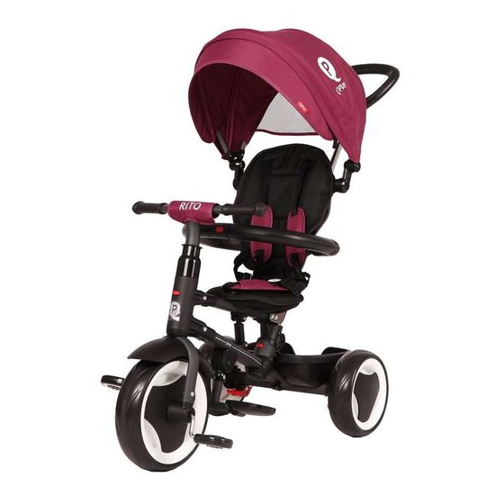 Qplay Rito Tricycle Pliable Purple  de QPlay