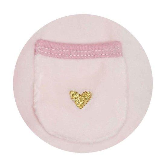 Mila Pyjamas Velours Rose 3 mois de Sauthon Baby Déco