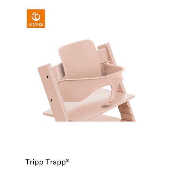 Baby Set™ Tripp Trapp® + Patin Rose Serein  de Stokke®