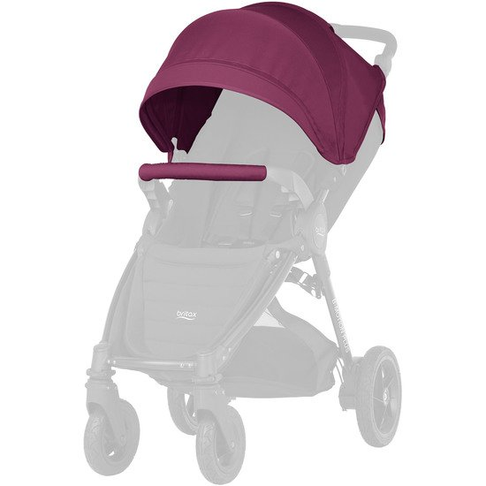 Canopy Pack B-Motion/B-Agile 4 Plus Wine Red  de Britax