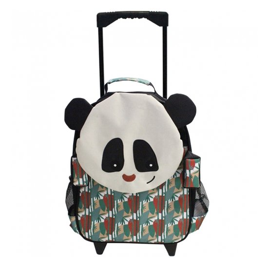 Rototos le panda cartable trolley   de Les Déglingos