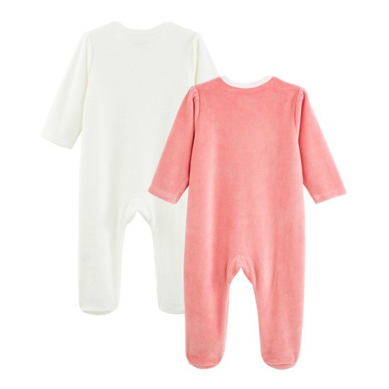 Licorne lot 2 pyjamas Rose praline  de P'tit bisou