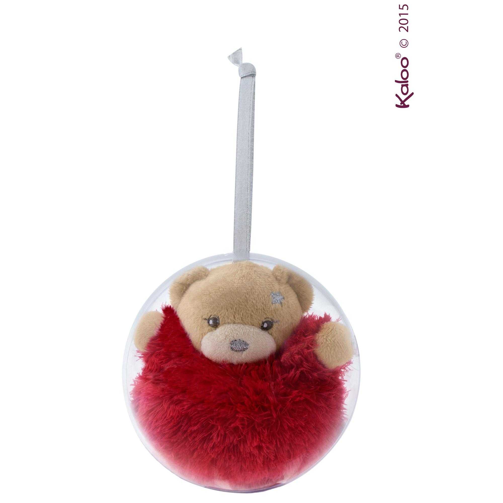 Mini ours boule de noël de Kaloo, Accessoires déco : Aubert