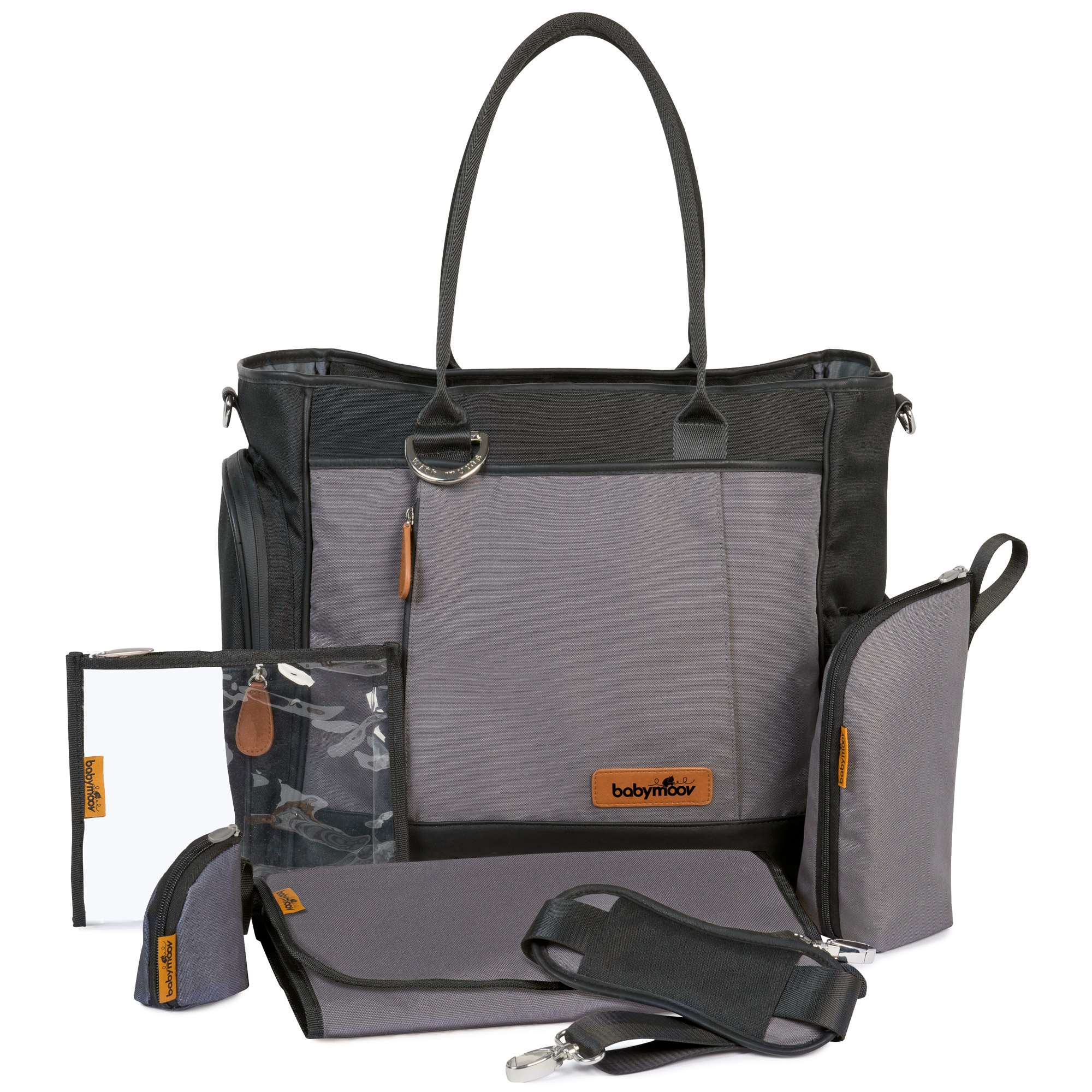 Sac essential bag Black de Babymoov, Sacs à langer   Aubert df57693f3e82