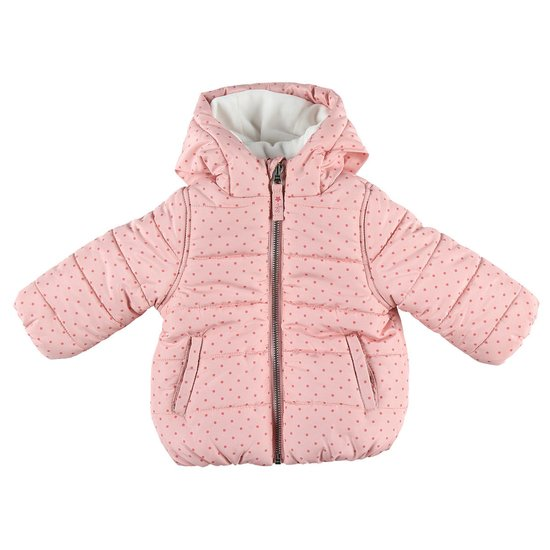 Manteau outwear collection Bord de mer fille Rose  de Noukies