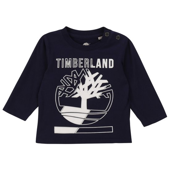 T-shirt manches longues collection Timberland Hiver 2019 Indigo  de Timberland