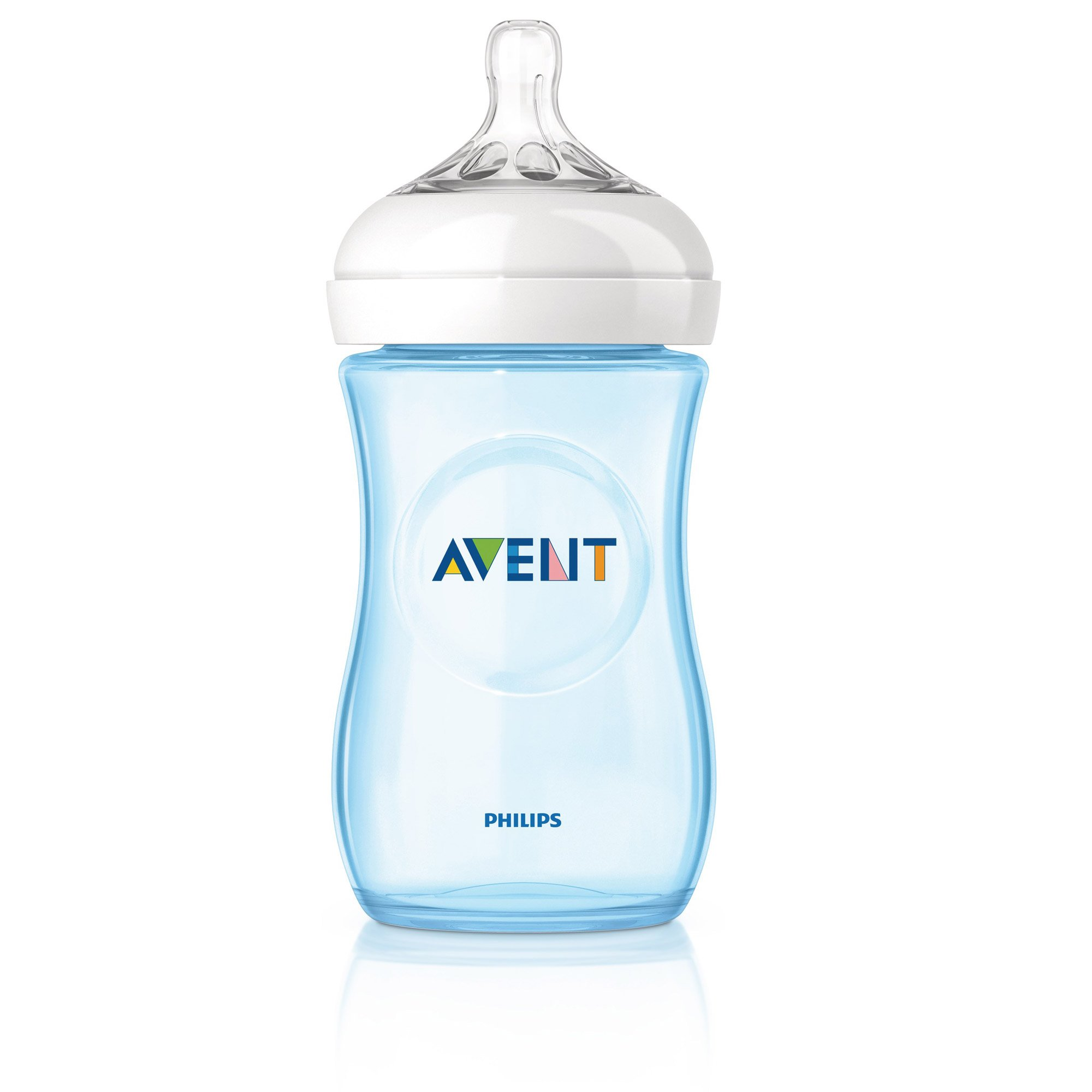 Biberon Natural PP Bleu 260 ml de Philips AVENT