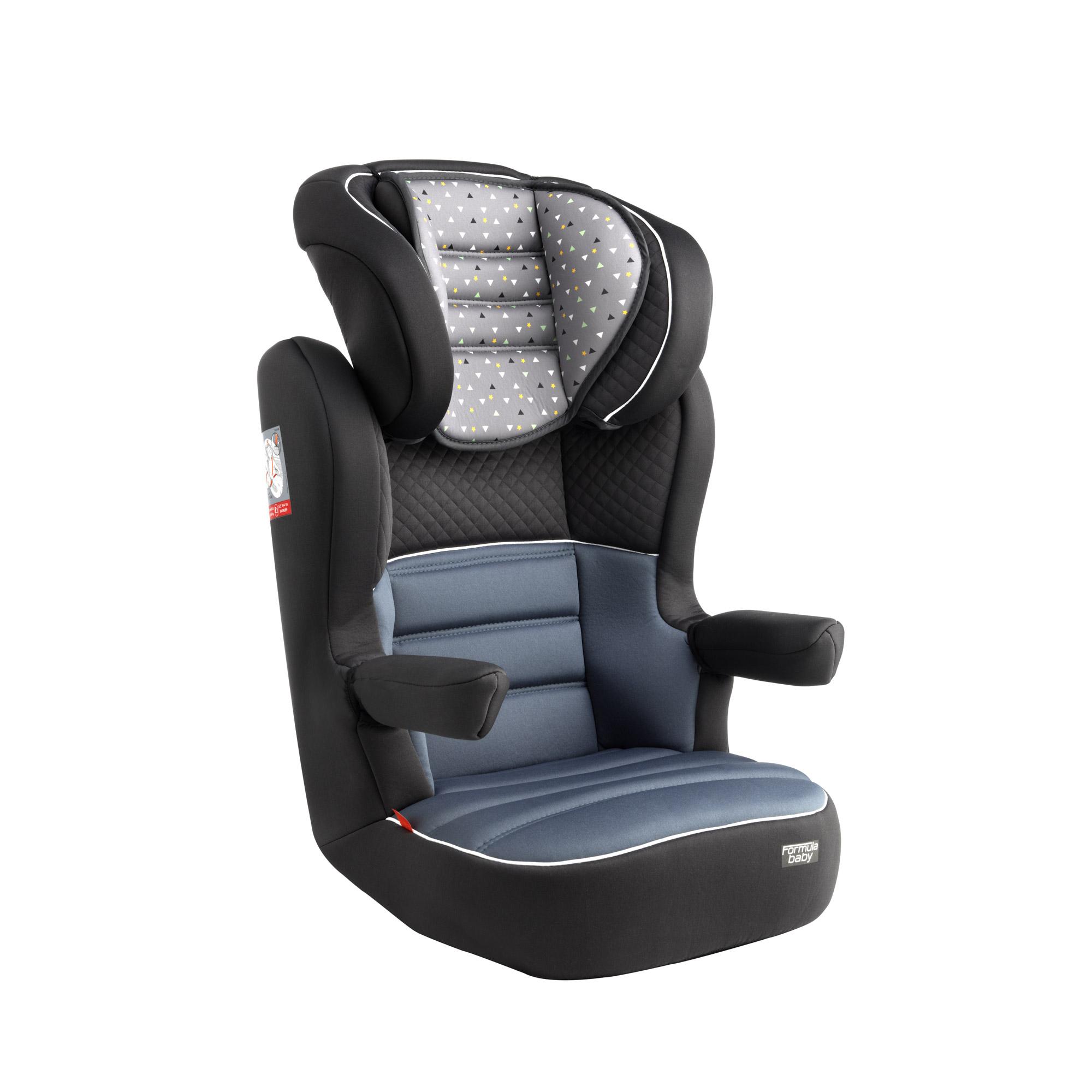 groupe 2 3 delta gris de formula baby si ge auto fixation. Black Bedroom Furniture Sets. Home Design Ideas