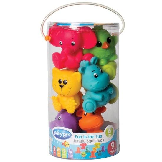 Multicolore Infantino Coffret 17 Jouets de Bain incontournables