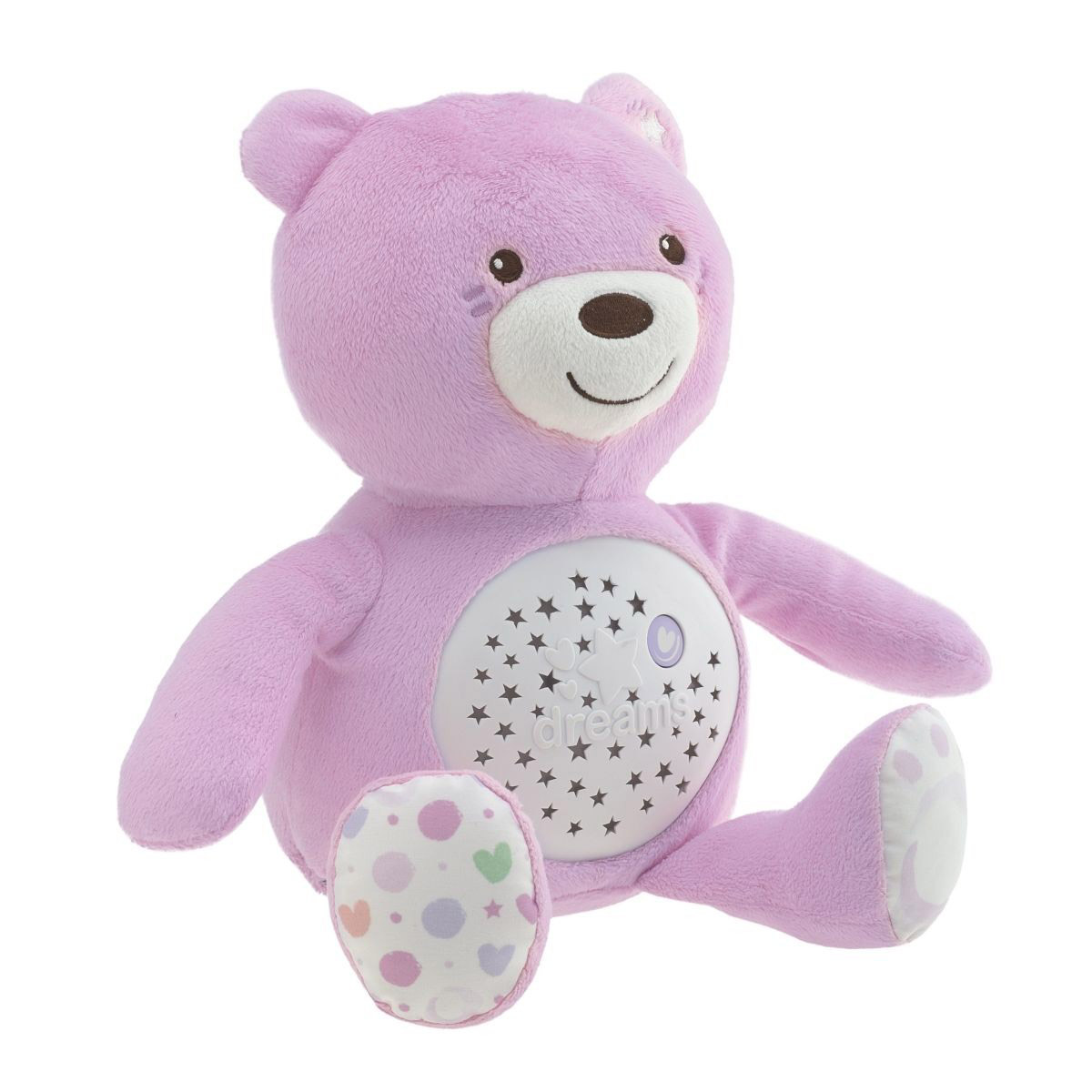Baby Bear projection first dream Rose  de Chicco