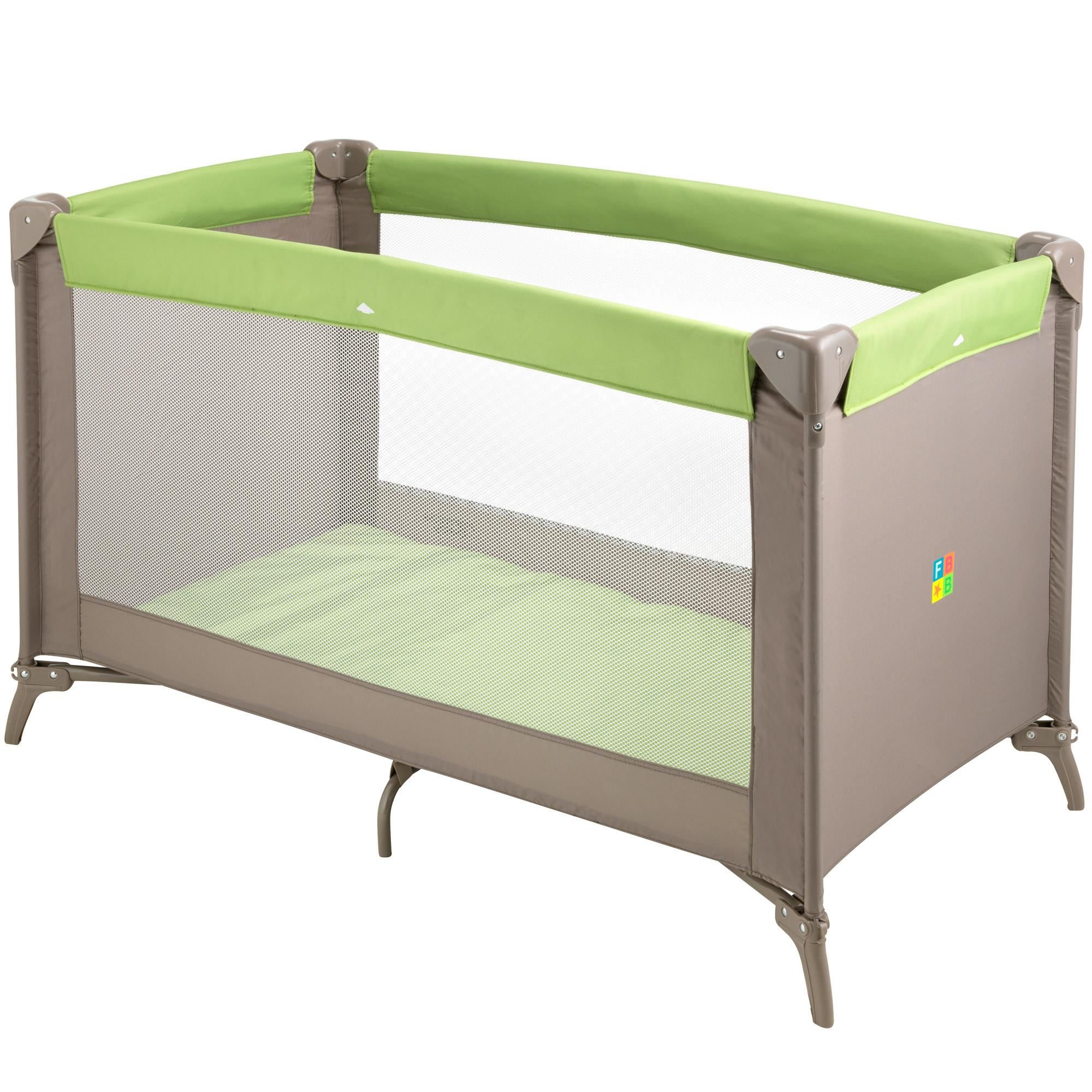 lit parapluie vert de formula baby lits parapluies aubert. Black Bedroom Furniture Sets. Home Design Ideas