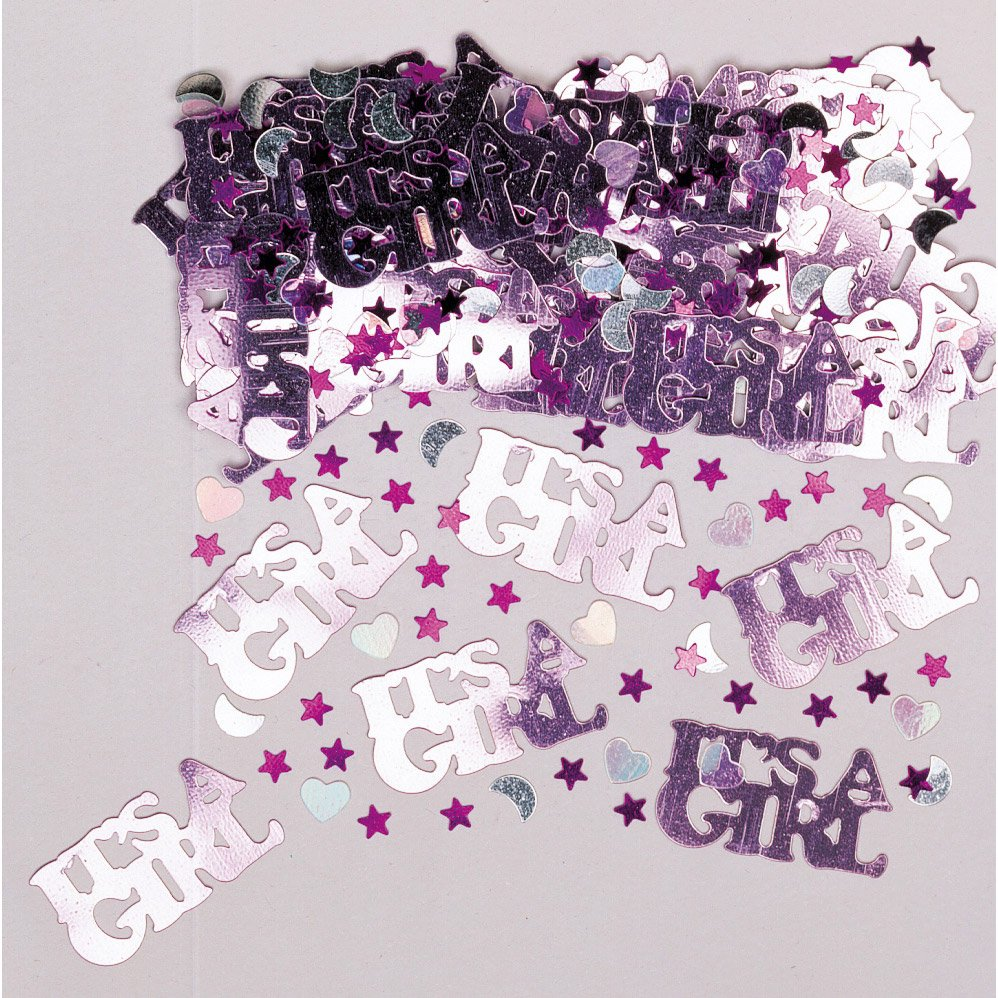 Confettis baby shower 14g Girl  de Amscan