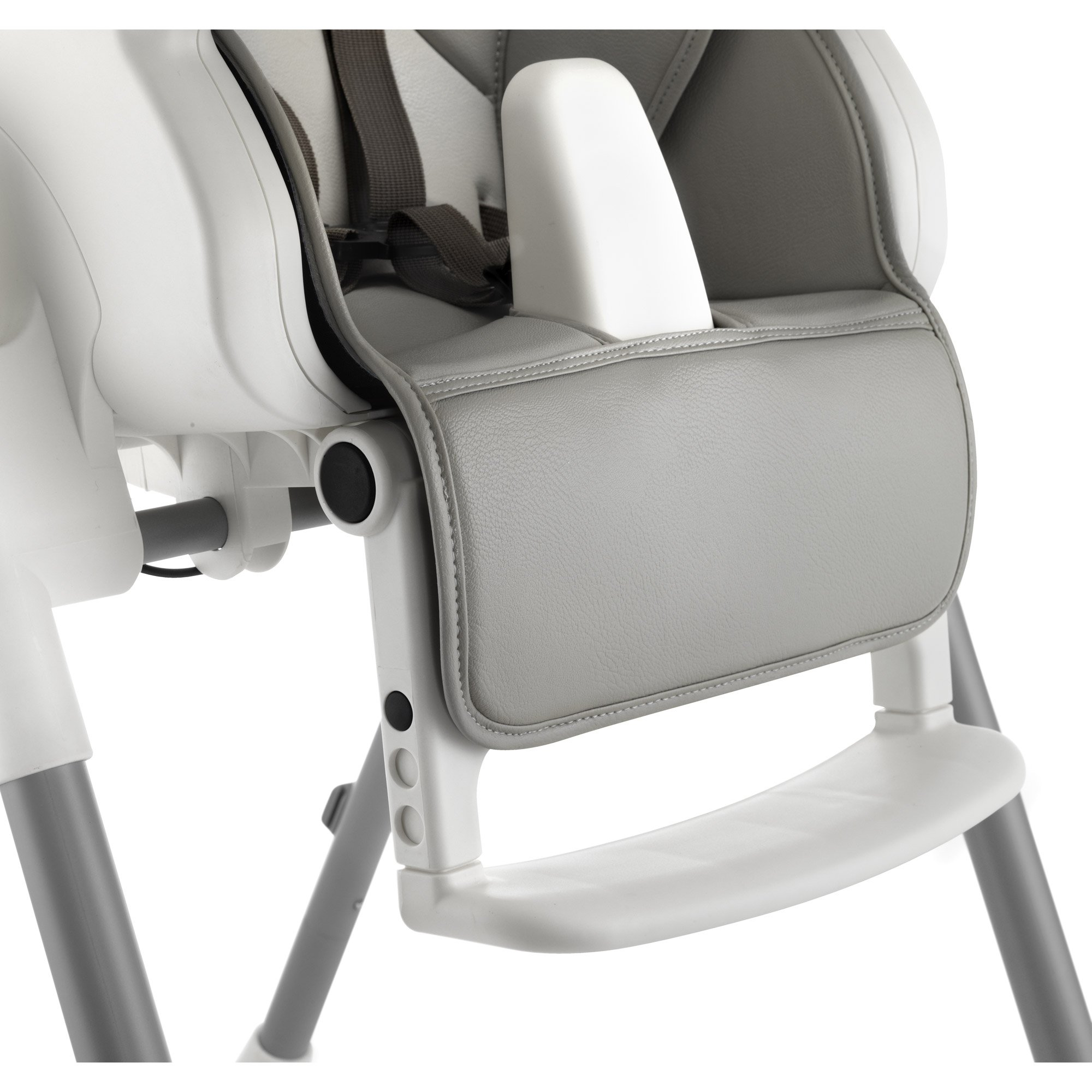 Chaise design noir de aubert concept chaises hautes r glables aubert - Rehausseur de chaise aubert ...