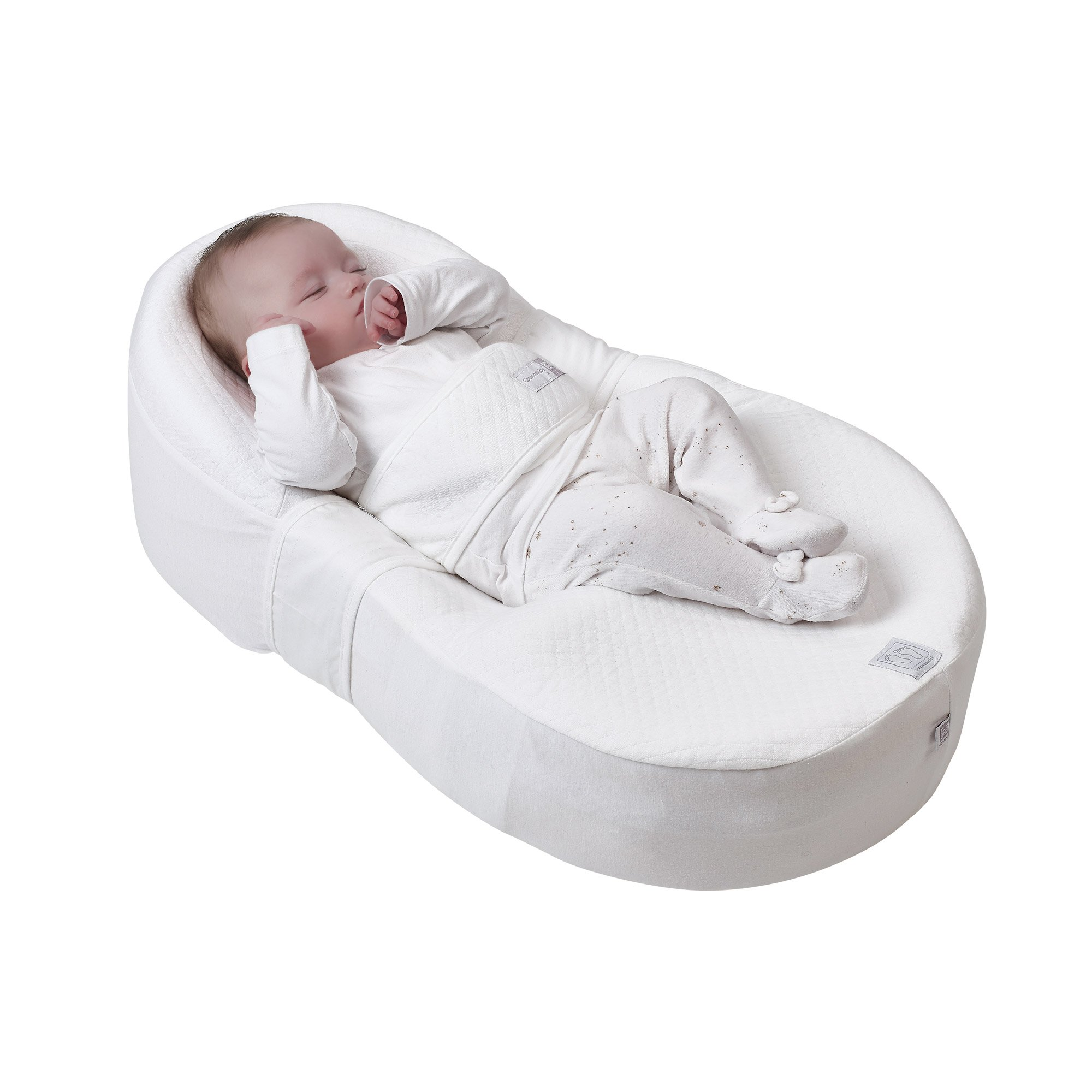 Nid Cocoonababy® + drap White  de Red Castle