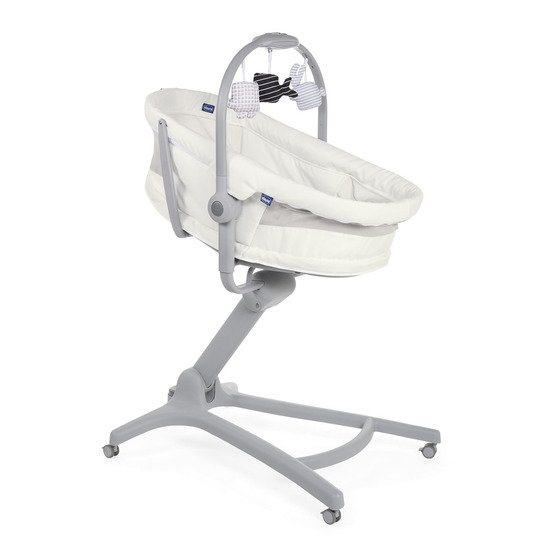 Transat Baby Hug 4 in 1 Air  White Snow  de Chicco