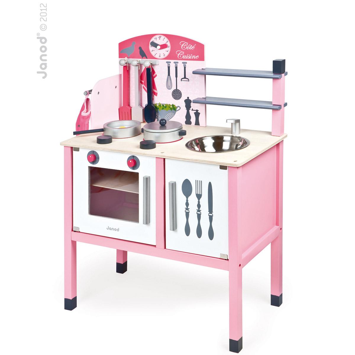 Maxi Cuisine Mademoiselle Bois Rose De Janod Autres Jouets Déveil