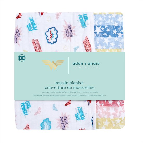 Couverture Wonder Woman  de aden + anais essentials