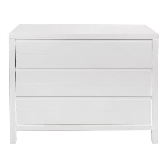 Stripes Commode 3 tiroirs Blanc  de Quax
