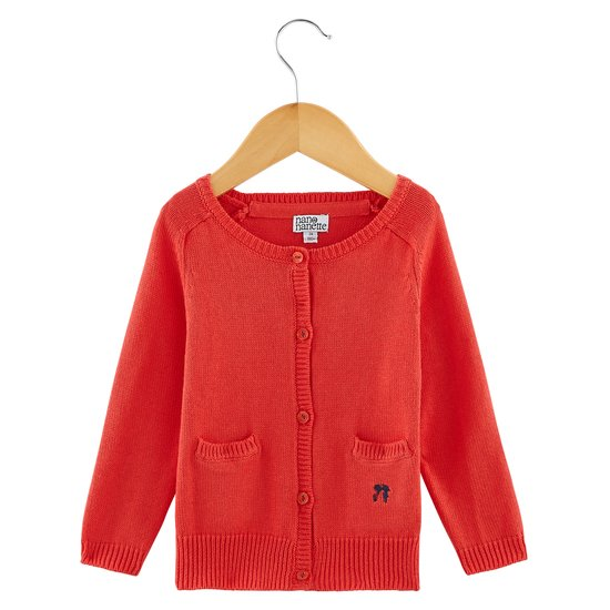 Cardigan collection Native American Girl Rouge  de Nano & nanette