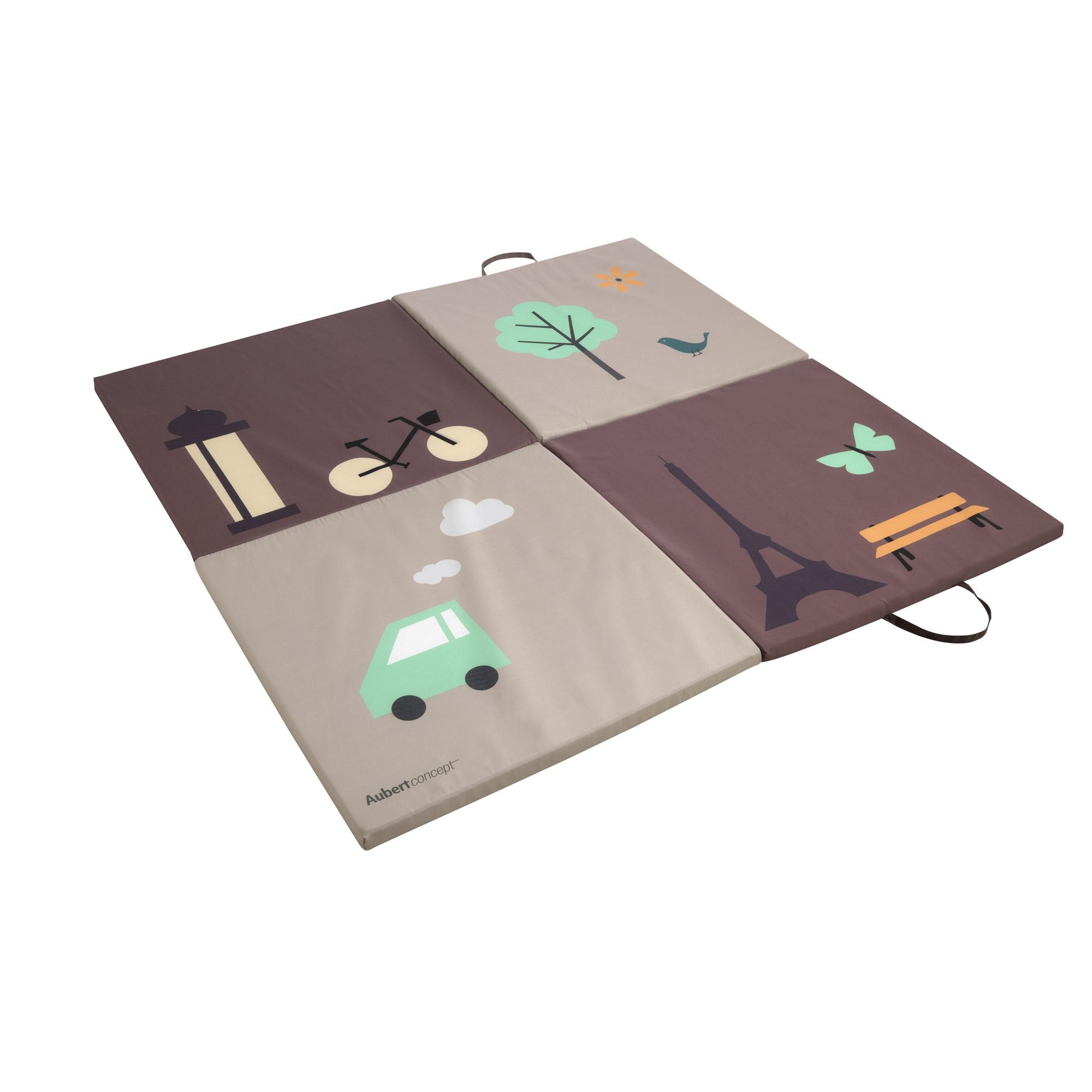 Tapis Chambre Bébé Mixte tapis matelas de sol marron de aubert concept, tapis d'éveil