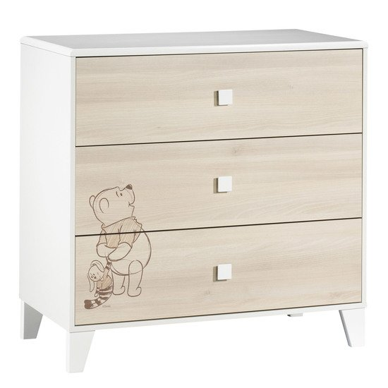 Winnie l'Ourson commode 3 tiroirs