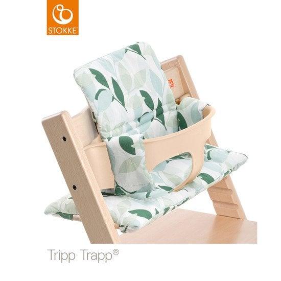 Chaise haute tripp trapp whitewash de stokke chaises hautes volutives aubert - Harnais chaise tripp trapp ...