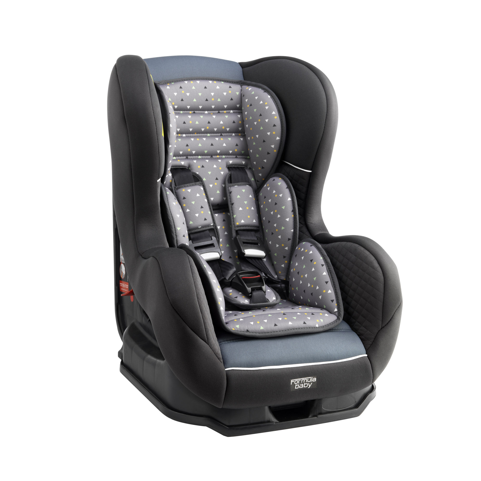 groupe 1 isofix delta gris de formula baby si ge auto. Black Bedroom Furniture Sets. Home Design Ideas
