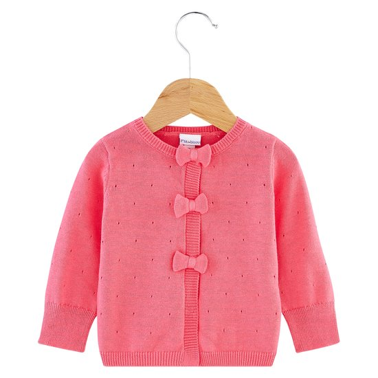 Cardigan collection Little Fox Rose  de P'tit bisou