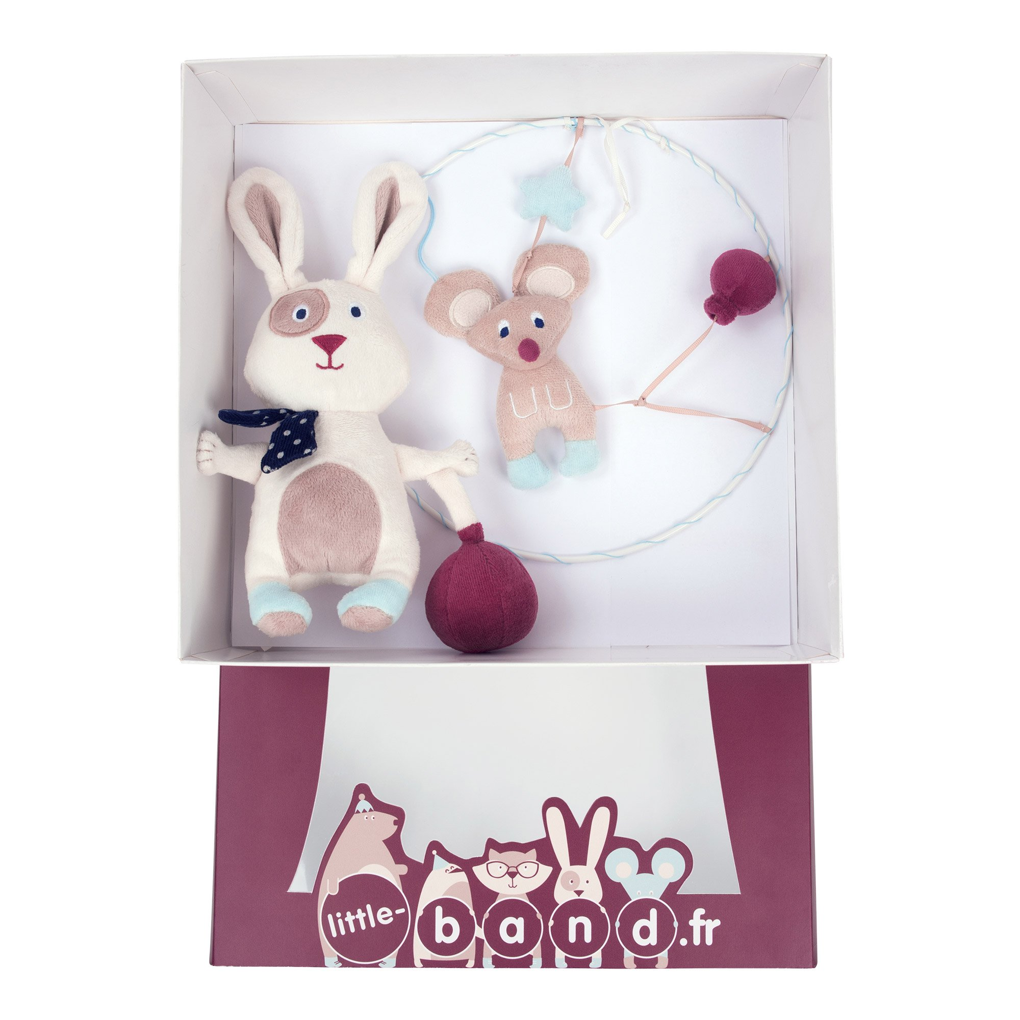 Balloon Company coffret peluche + attrape-rêve Beige  de Little Band