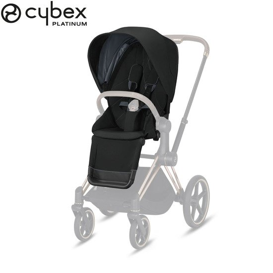 Priam pack siège Deep Black/Black  de Cybex