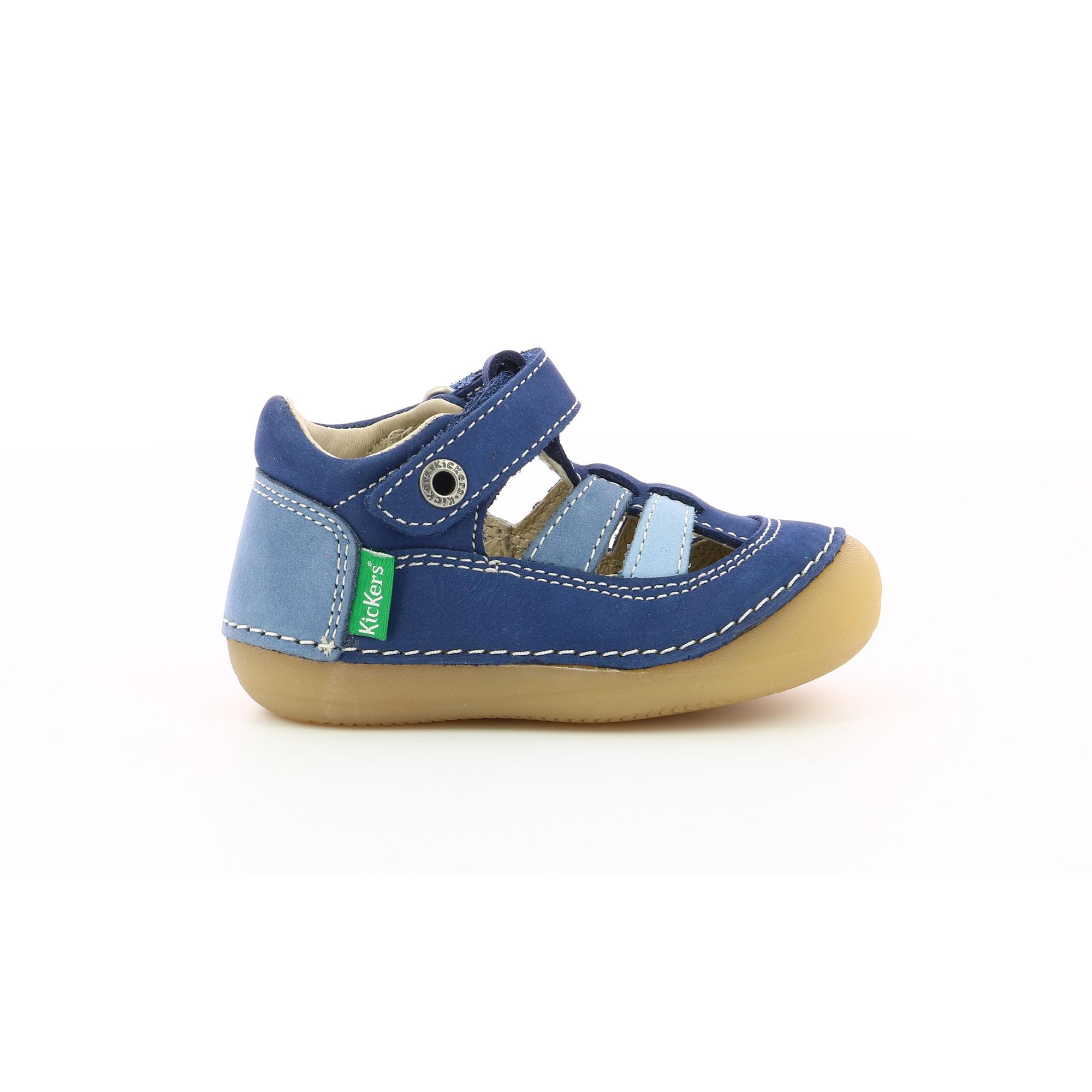 Chaussure Sushy Bleu tricolore  de Kickers