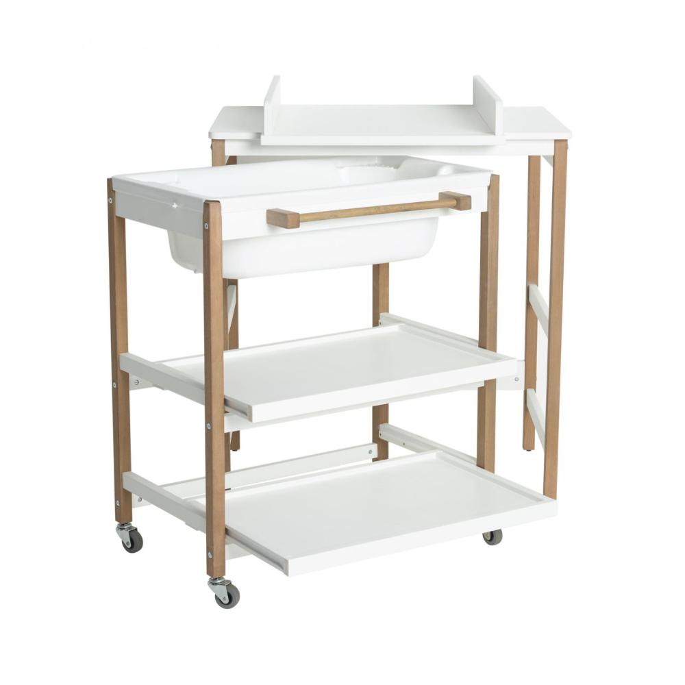 Table À Langer Petite meuble à langer smart comfort white naturel de quax, tables