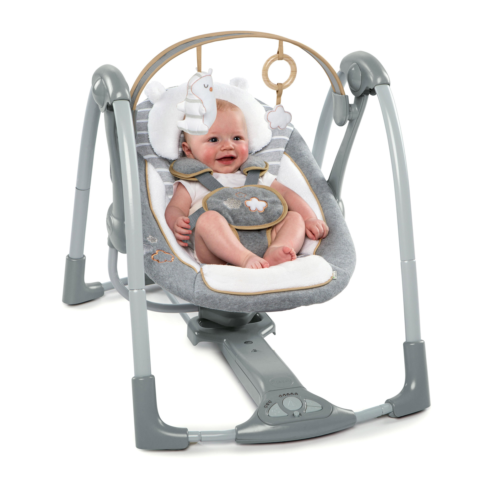 Balancelle Swing 'n Go Portable Swing Bella Teddy™  de Ingenuity