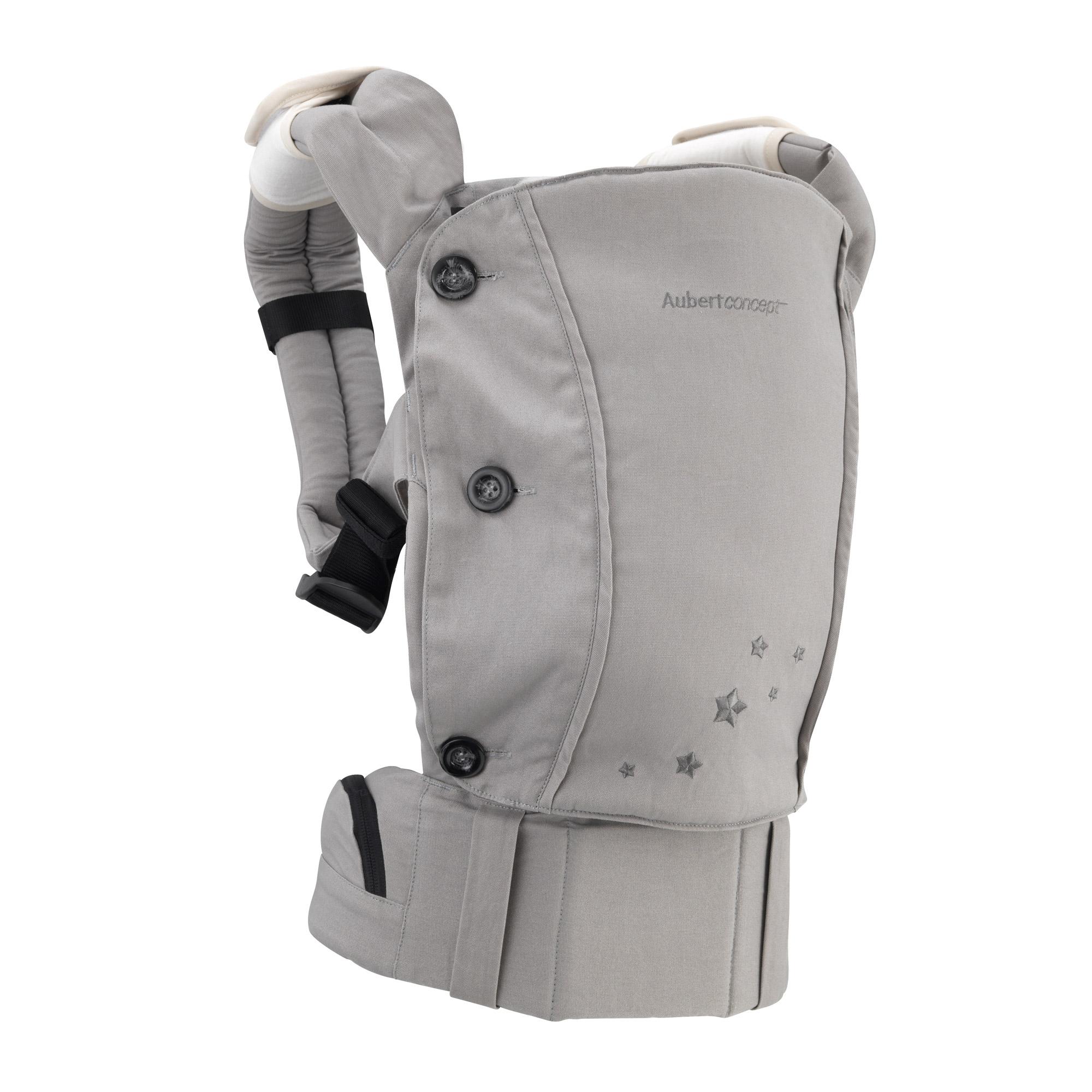 1d4357a83251 Porte-bébé ergonomique Gris de Aubert concept, Porte bébé ventral ...