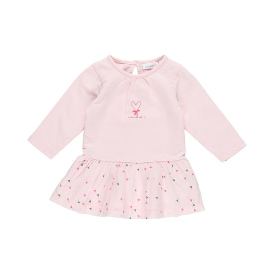 Robe manches longues collection Cocon Fille Rose  de Noukies