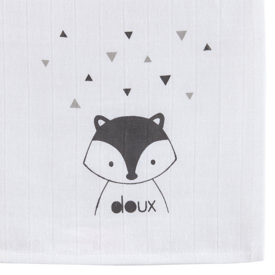 Lot de 3 langes collection Little Fox