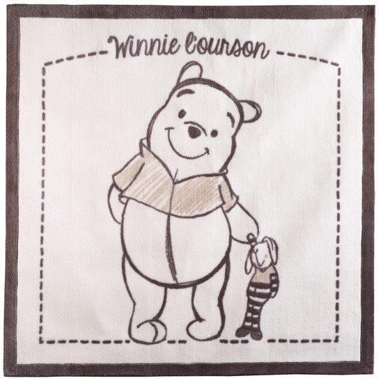 Winnie New Tapis 140x140 Beige De Disney Baby Tapis Aubert