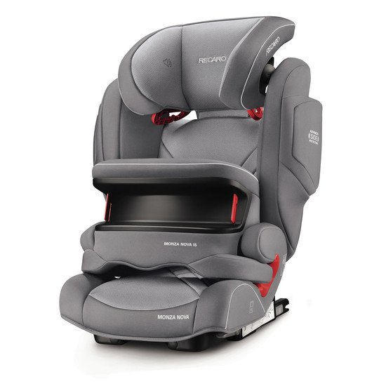 Monza Nova IS Seatfix Aluminium Grey  de Recaro