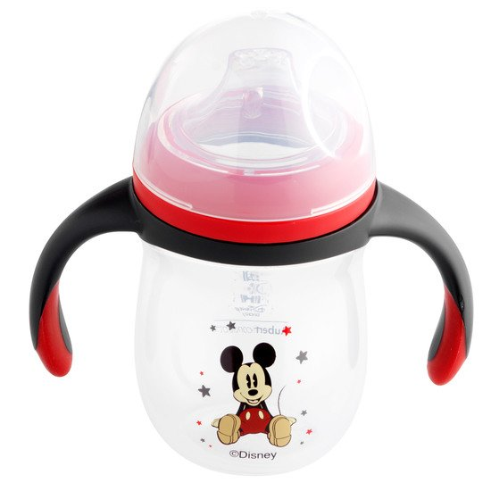 Tasse d'apprentissage Mickey & Minnie Rouge  de Aubert concept