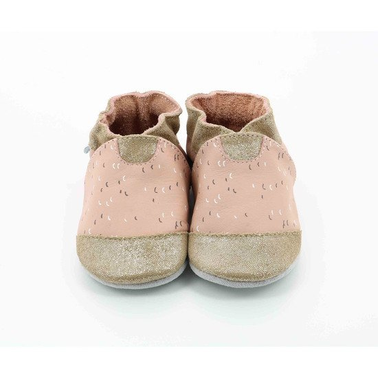 Chaussons party Rose/Bronze  de Robeez