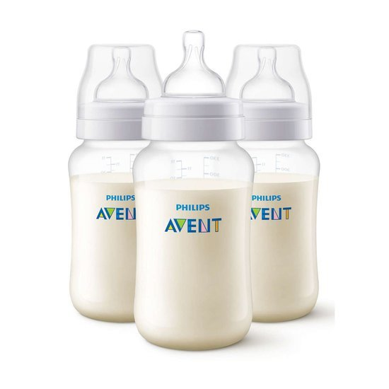 Lot de 3 Biberons Anti-colic