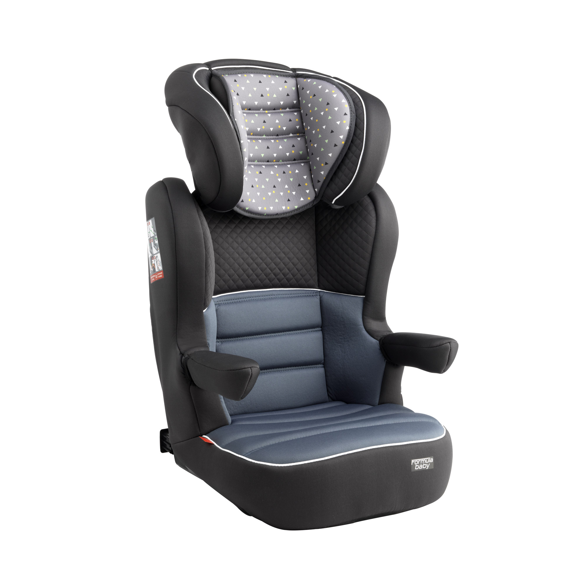 groupe 2 3 fix delta gris de formula baby si ge auto. Black Bedroom Furniture Sets. Home Design Ideas