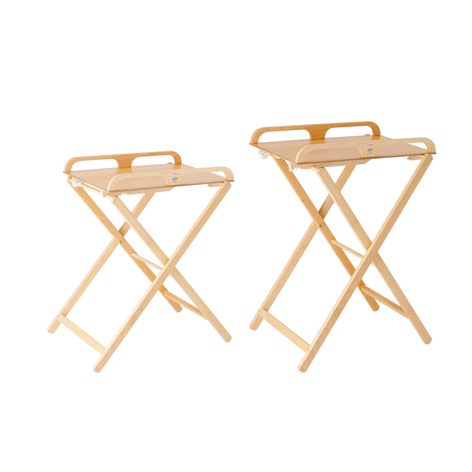 Table à Langer Jade Pliante Naturel De Combelle Tables à Langer