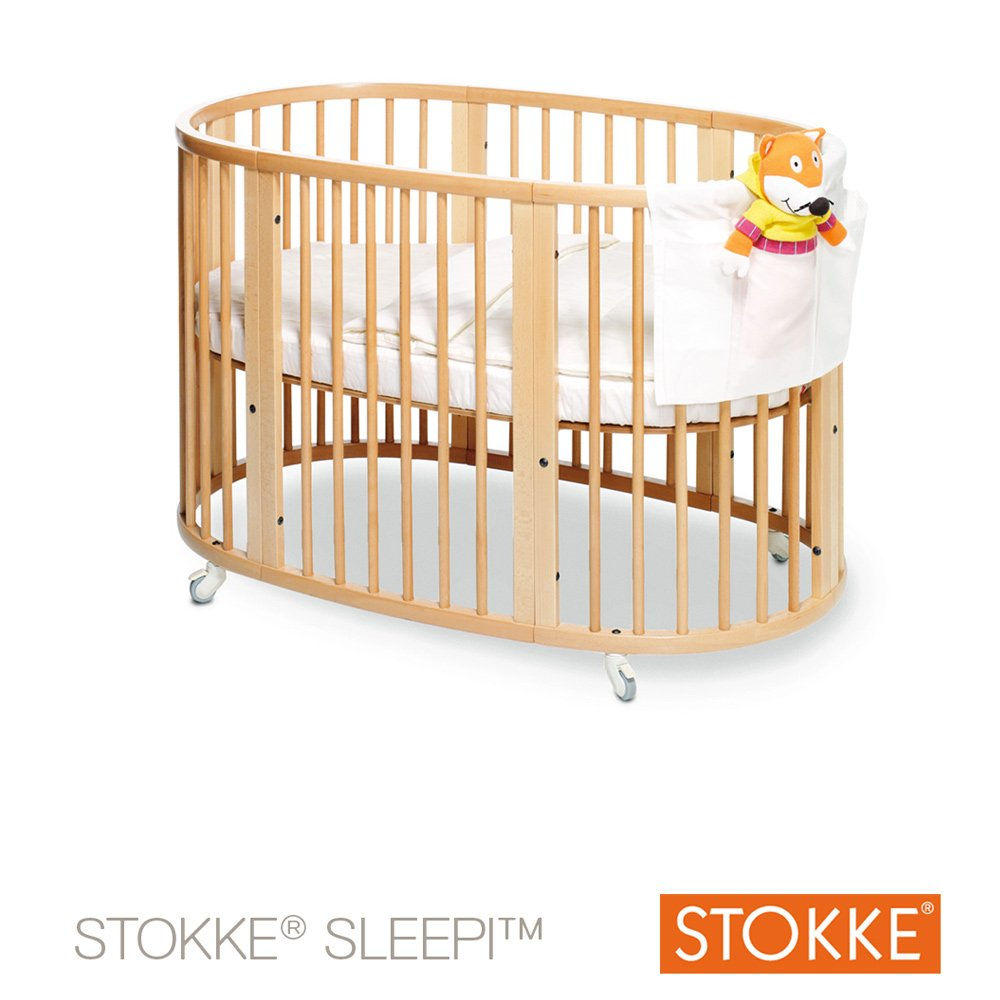 Lit Sleepi™ 120 cm Naturel  de Stokke®