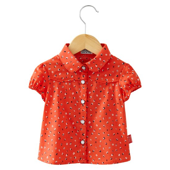 Chemise collection In LA Fille Orange  de Nano & nanette