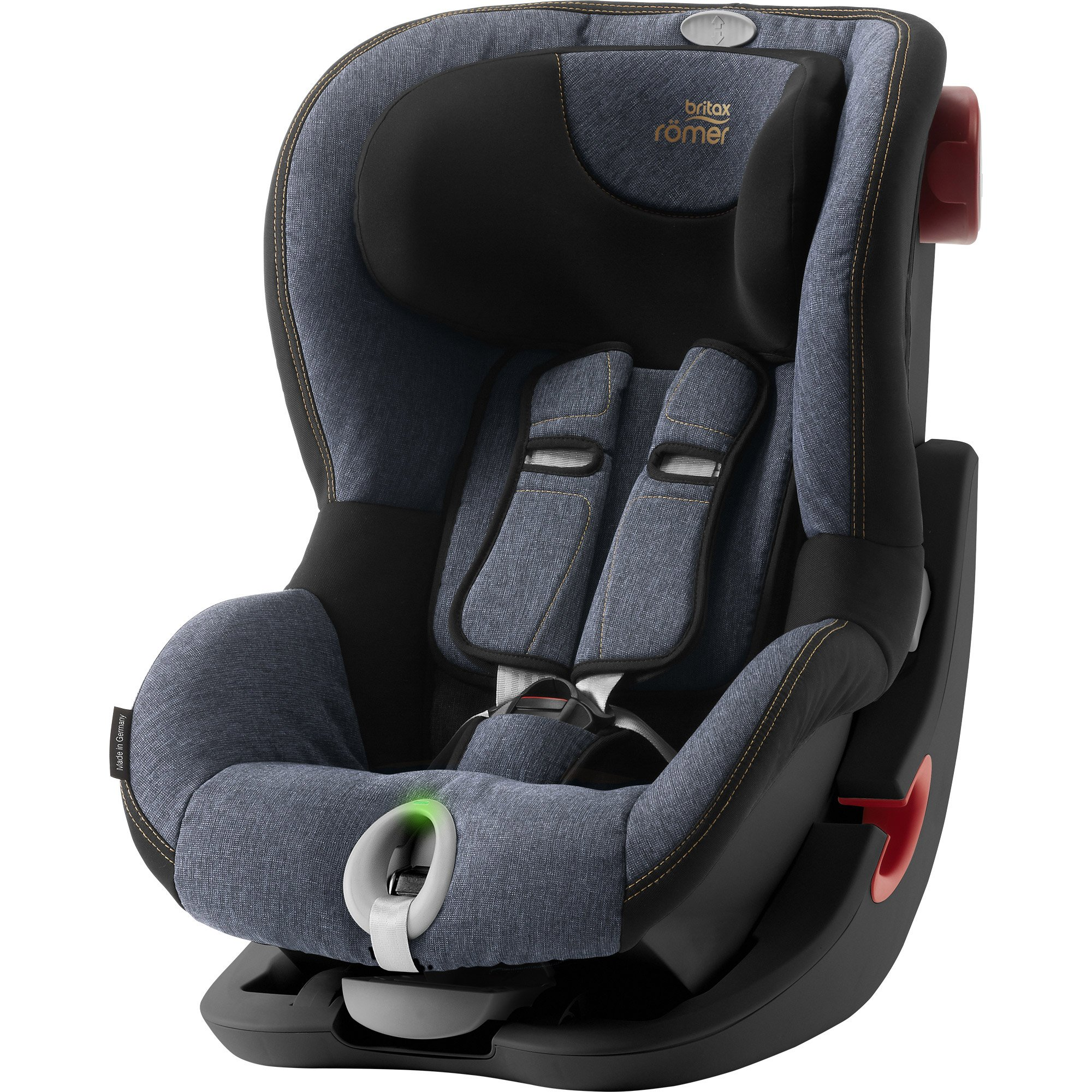 King II LS Blue Marble Black Series  de Britax