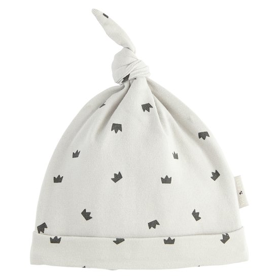 Bonnet Royal Baby Grey  de P'tit bisou
