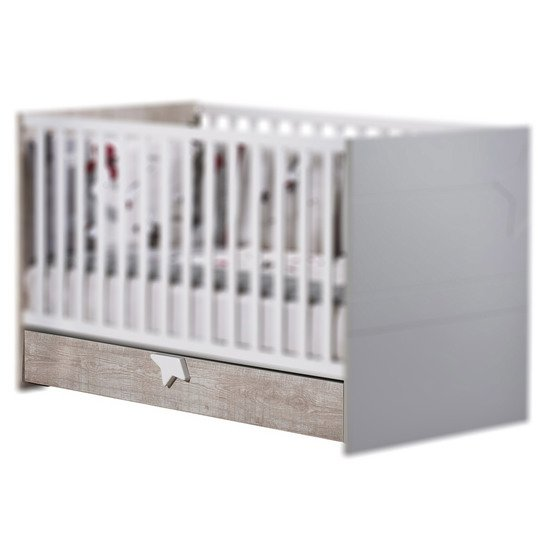 Nova tiroir pour Little big bed   de Sauthon Baby's Sweet Home
